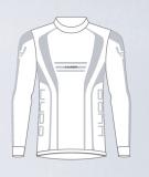 Термобелье детское -куртка  HYRA.   Арт 9428-white