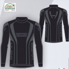 Термобелье детское -куртка  HYRA.   Арт 9428 black-anthracite