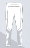 Термобелье детское-брюки HYRA.   Арт  9429-white