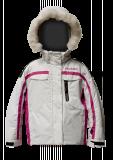 Детская горнолыжная куртка  HYRA.   Арт.HJG2381-191 :white-fuxia