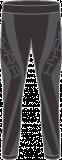 Термобелье женское-брюки  HYRA.   Арт: HLI9427-156-black-anthracite