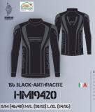 Термобелье мужское-куртка  HYRA.   Арт HMI9420 black-anthracite