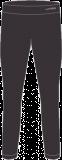 Термобелье мужское-брюки  HYRA.   Арт:HMI9422-01-black