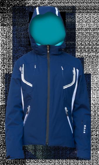 Горнолыжная куртка  HYRA  Арт. 1340 HLG1340-39 blue-white
