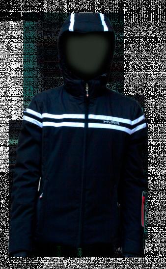 Горнолыжная куртка  HYRA  Арт. HLG3385-64 black-white