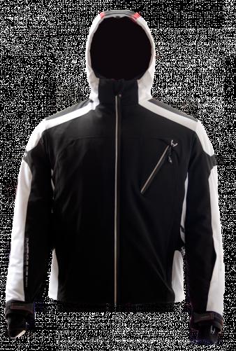 Горнолыжная куртка  HYRA. Арт. HMG0352-64 black-white